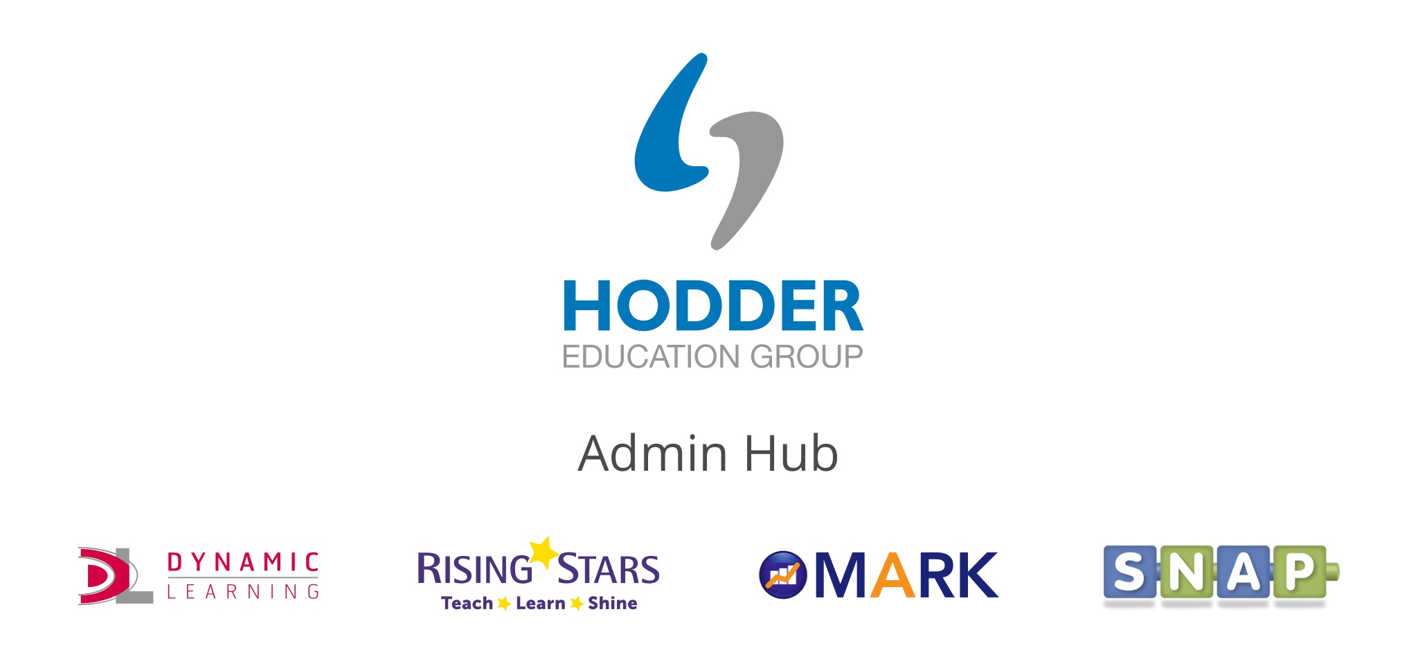 Hodder Education Admin Hub